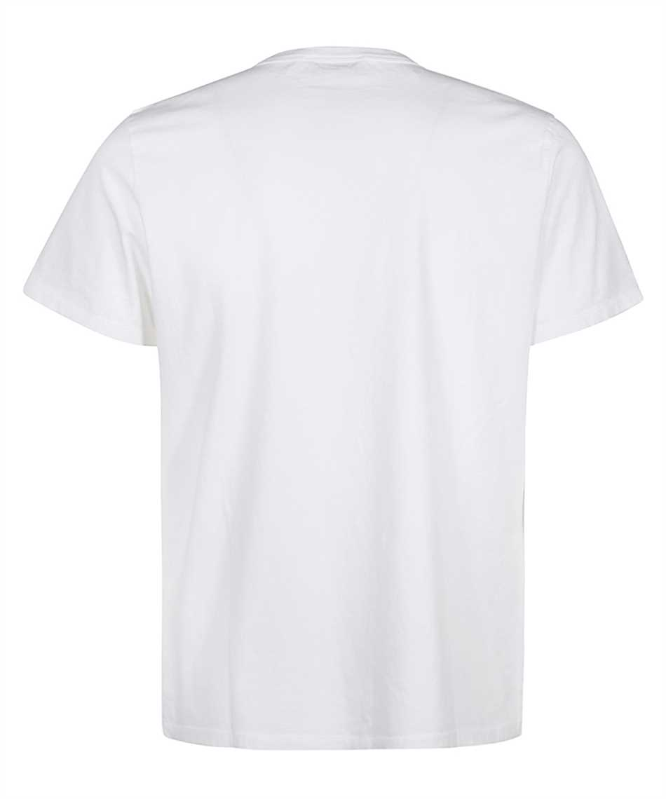 Maison Kitsune GM00118KJ0008 GREY FOX HEAD PATCH CLASSIC T-shirt 2