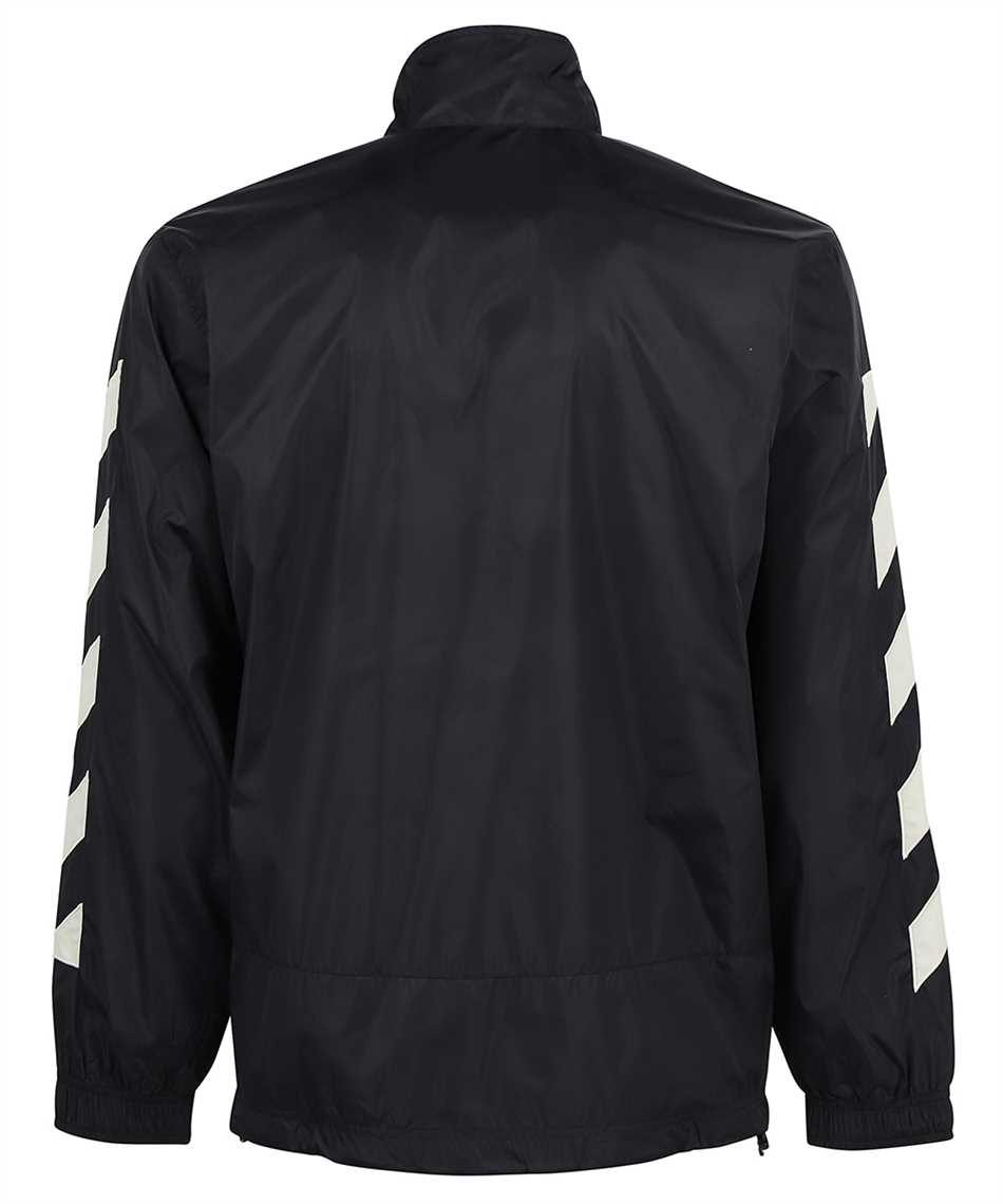 Off-White OMBD022F21FAB001 DIAG NYLON TRACKTOP Giacca 2