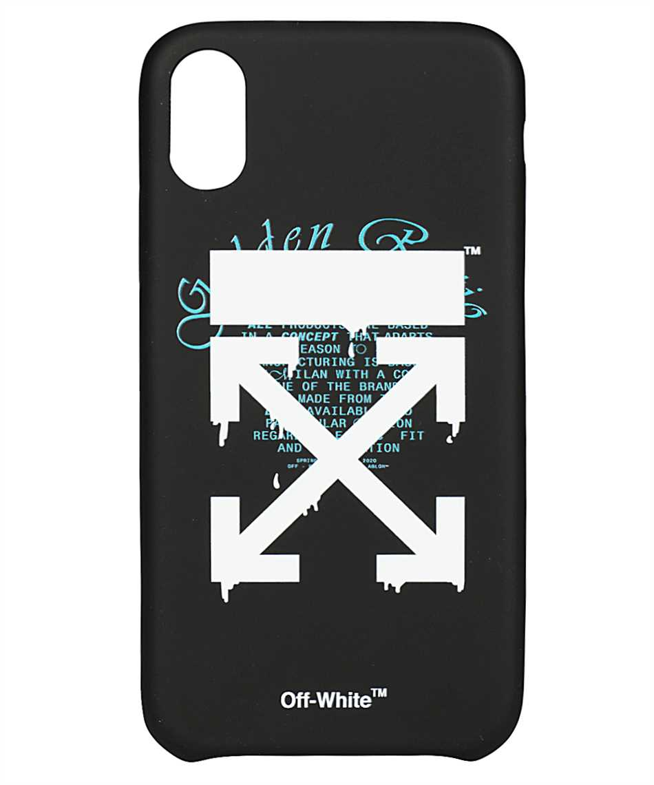 Off-White OMPA014R20294005 DRIPPING ARROWS iPhone X/XS cover 1
