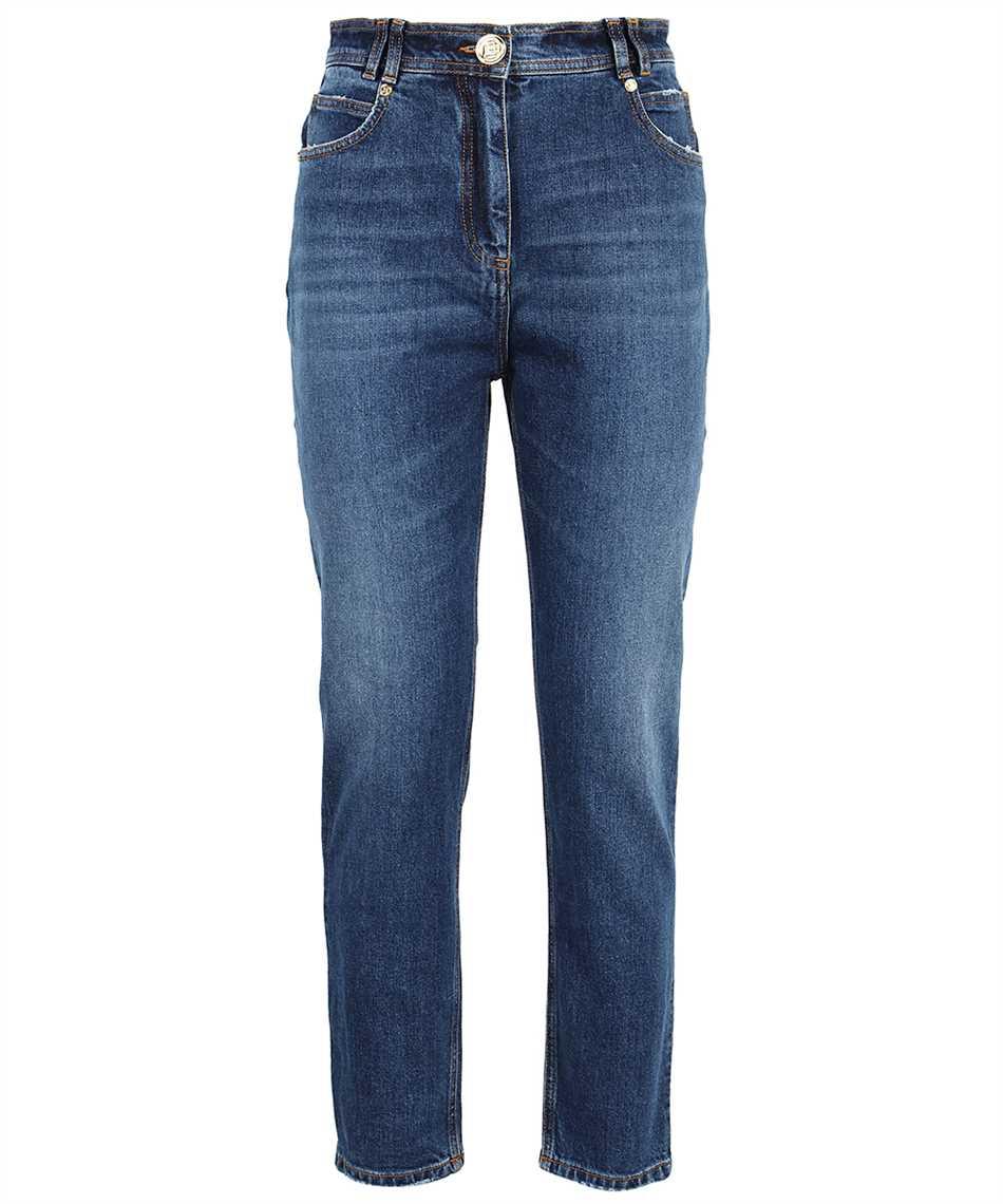 Balmain WF0MG005D161 SLIM MONOGRAM Jeans 1