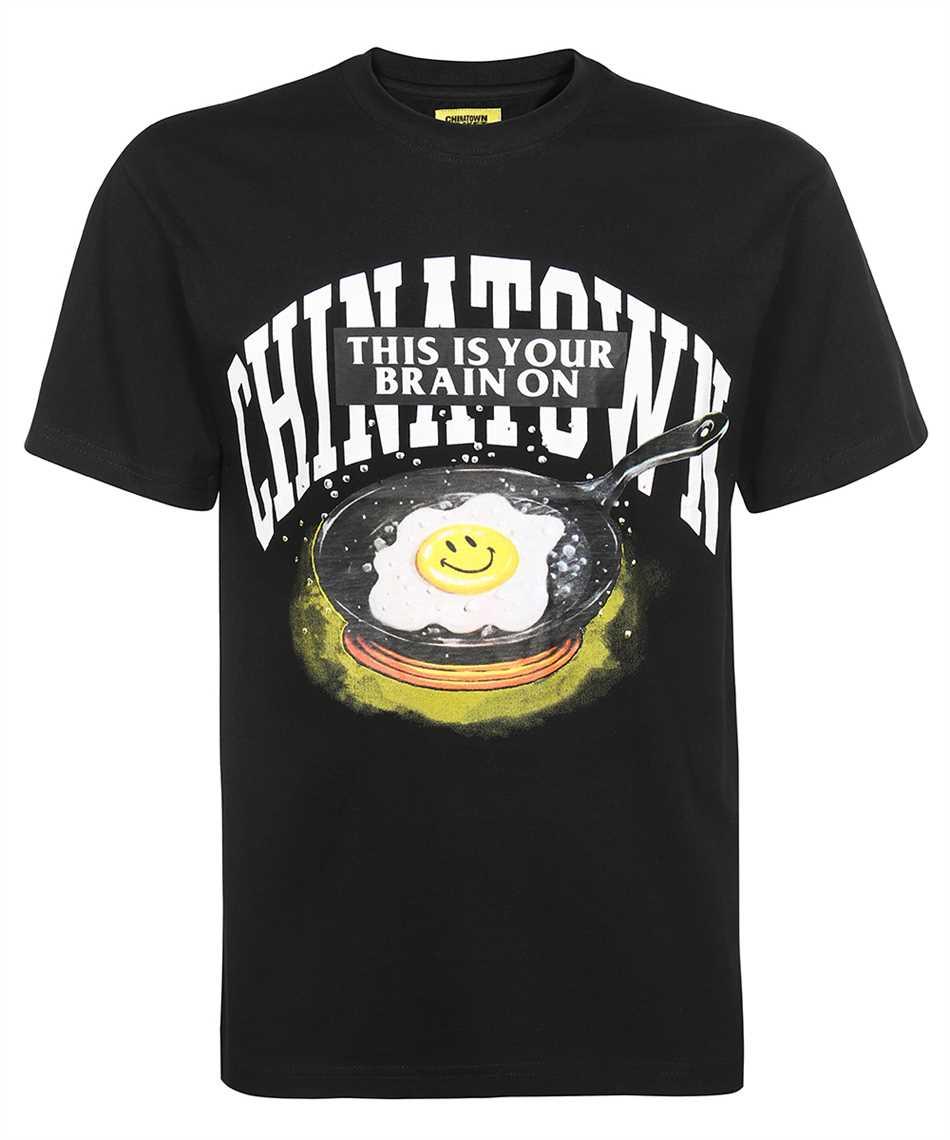 Chinatown Market 1990511 SMILEY BRAIN ON FRIED T-shirt 1