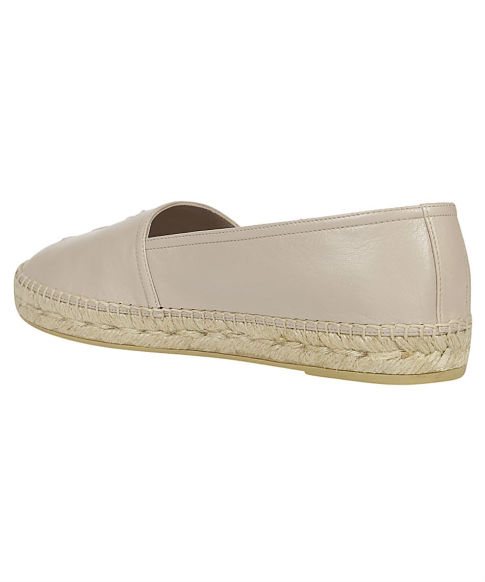 Saint Laurent 458573 B3400 EMBOSSED Espadrilles 3