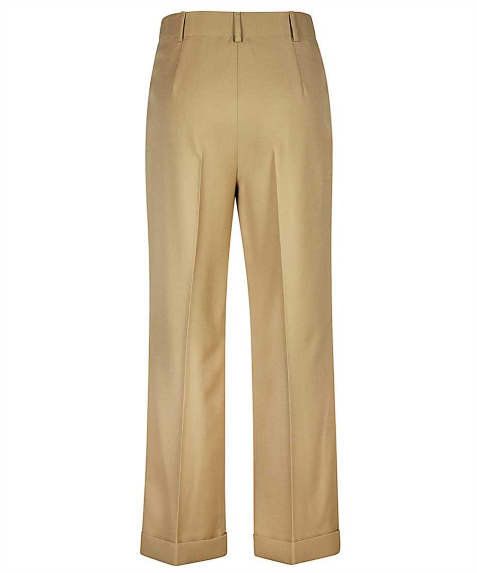 Saint Laurent 627259 Y404W HIGH-RISE PLEATED Trousers 2