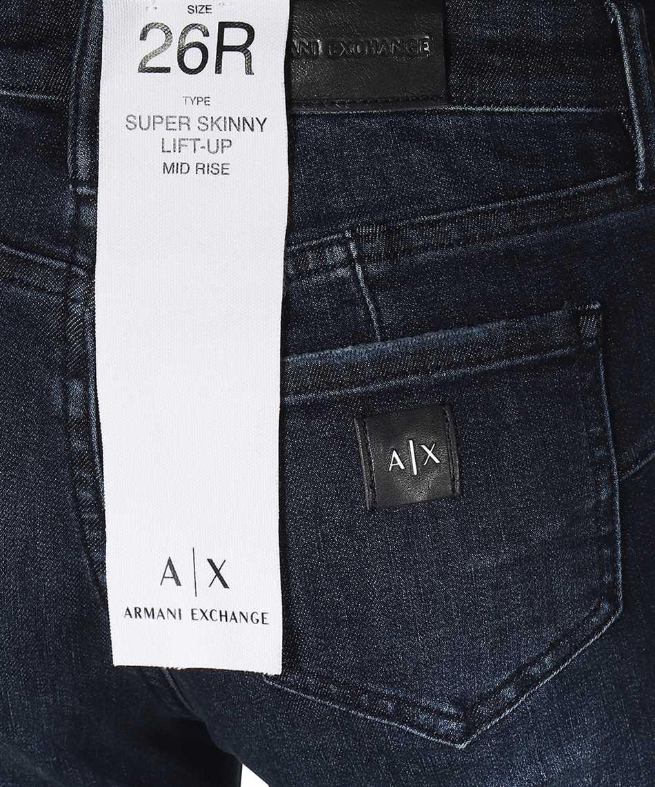 Armani Exchange 6KYJ69 Y1DRZ SUPER SKINNY LIFT-UP Jeans 3
