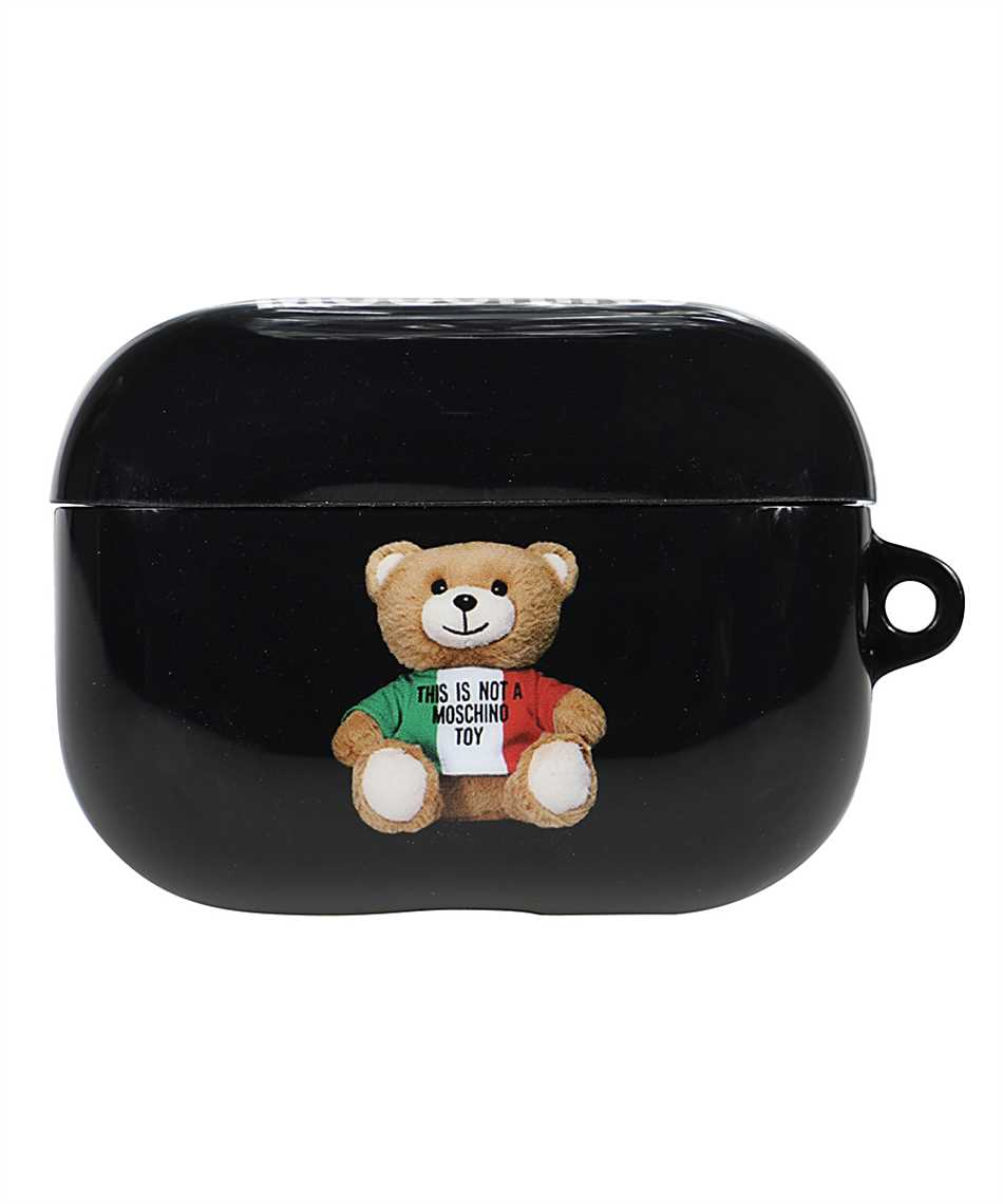 Moschino A7784 8302 ITALIAN TEDDY BEAR AirPods case 1