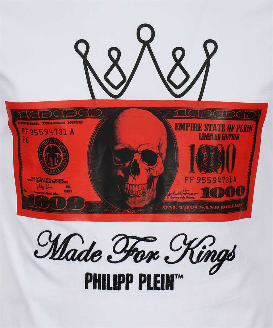 Philipp Plein F20C MTK4607 PJY002N SS DOLLAR T-shirt 3
