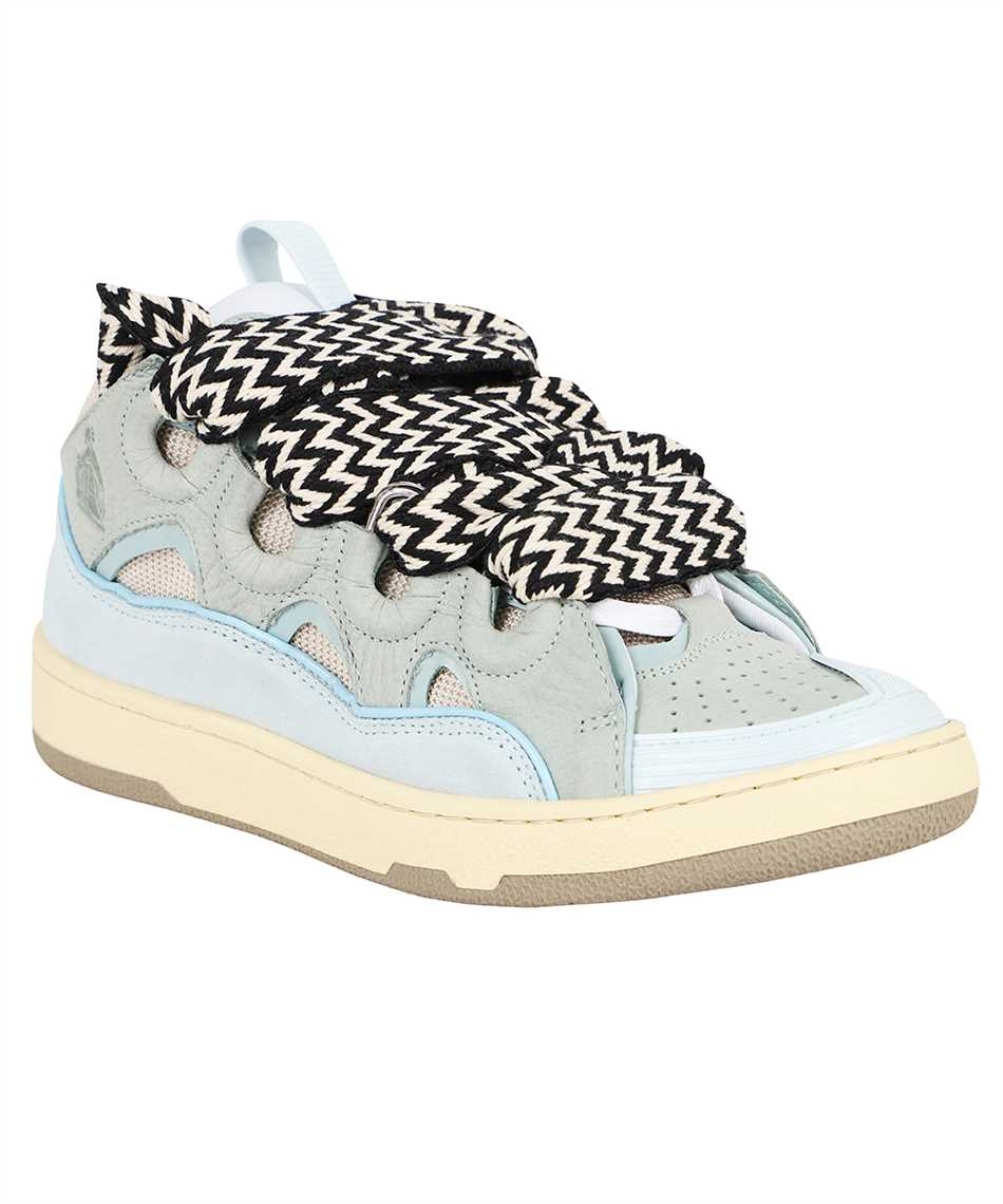 Lanvin FW SKDK02 DRAG A21 LEATHER CURB Sneakers 2