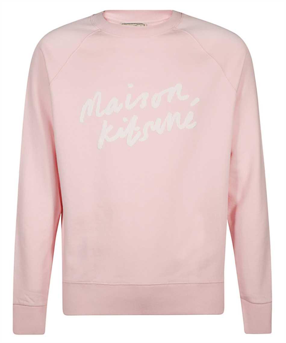 Maison Kitsune GM00313KM0001 HANDWRITING CLEAN Sweatshirt 1