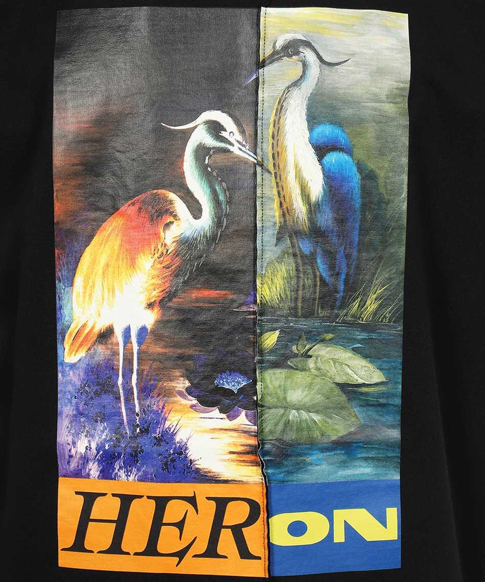 Heron Preston HMAA029F21JER002 SPLIT OVERSIZE S/S T-shirt 3