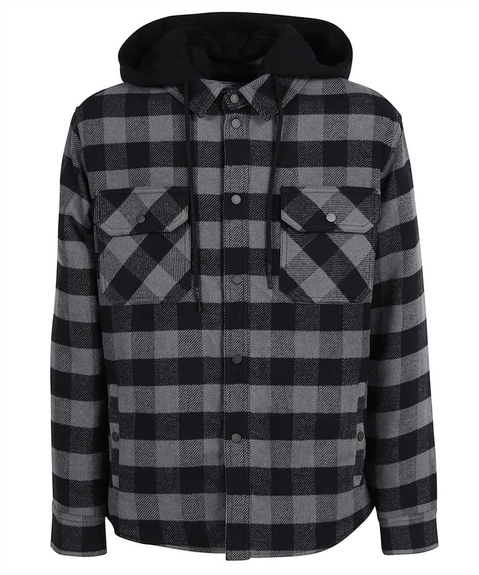 Off-White OMEA236F21FAB001 ARROW PADDED FLANNEL Camicia 1