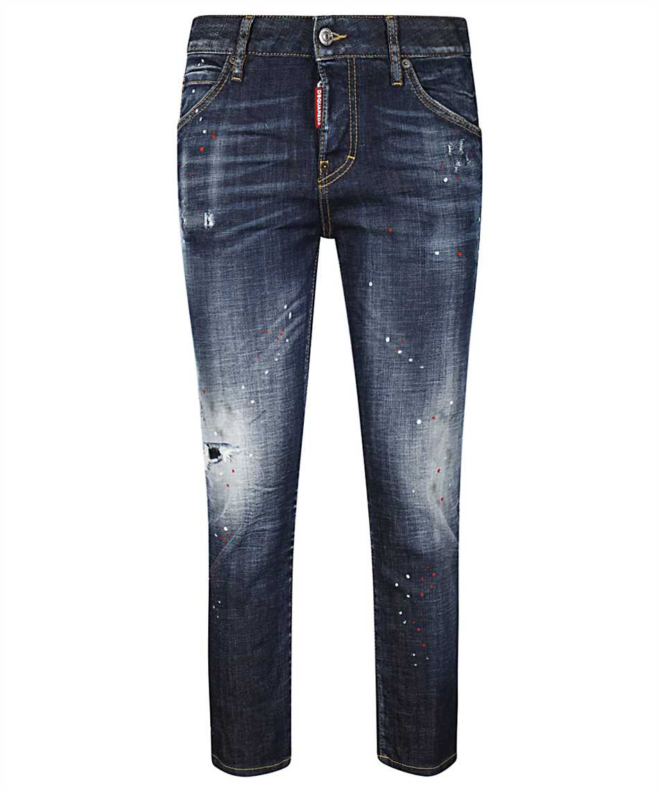 Dsquared2 S72LB0354 S30342 COOL GIRL CROPPED Jeans 1