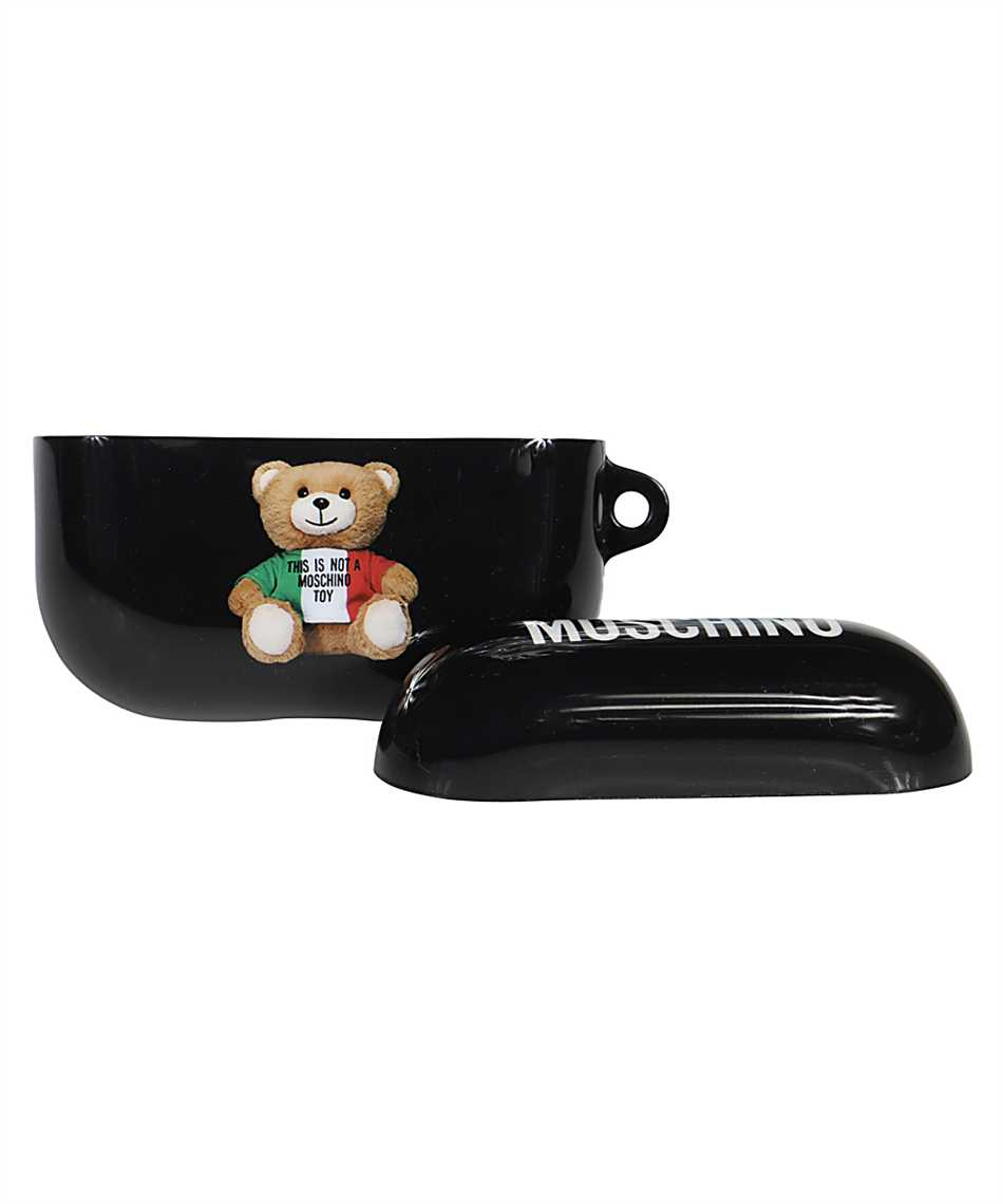 Moschino A7784 8302 ITALIAN TEDDY BEAR AirPods case 3