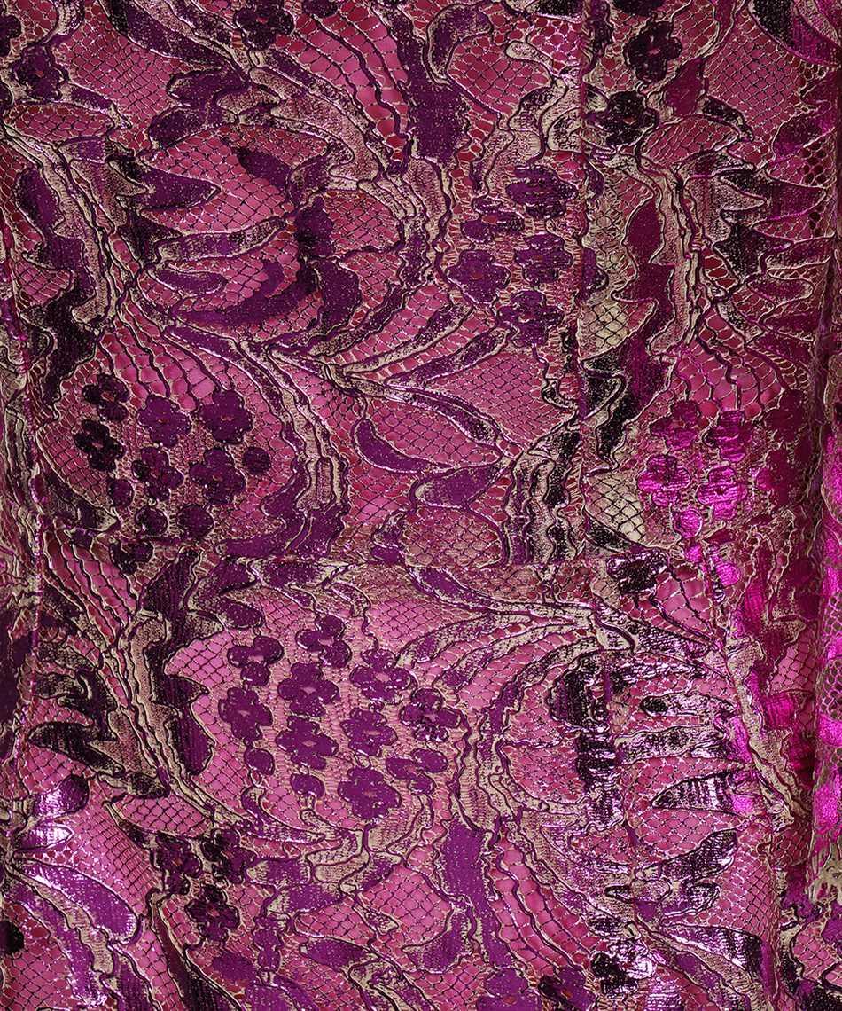 Dolce & Gabbana F6R5UT HLM4T SHORT LAMINATED LACE Kleid 3