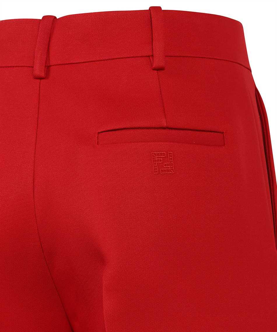 Fendi FR6293 AC4G WIDE SILK WOOL Trousers 3