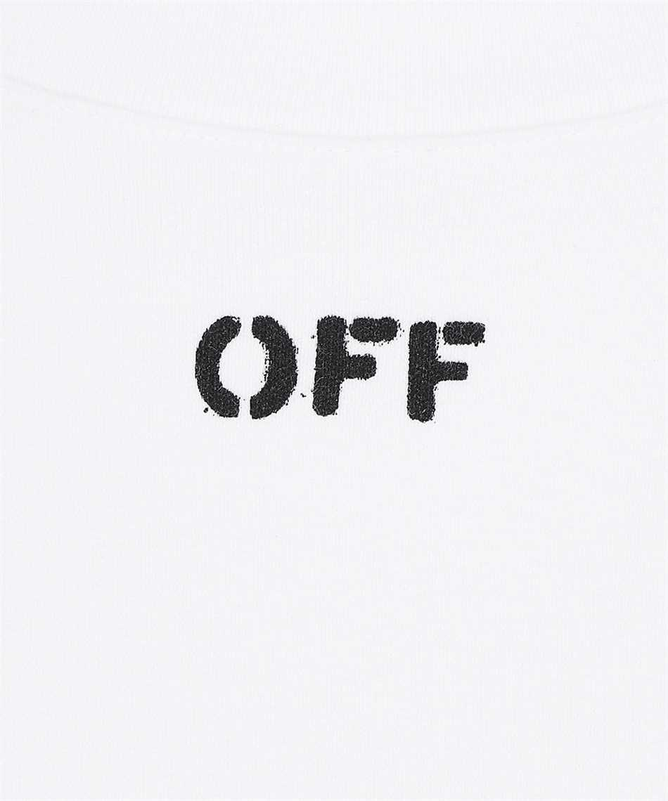 Off-White OWAA096F21JER001 OFF STAMP SNAP REGULAR T-shirt 3