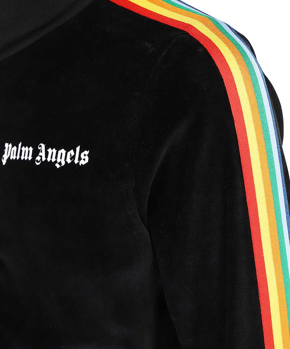 Palm Angels PMBD001F21FAB008 RAINBOW CHENILLE TRACK Giacca 3