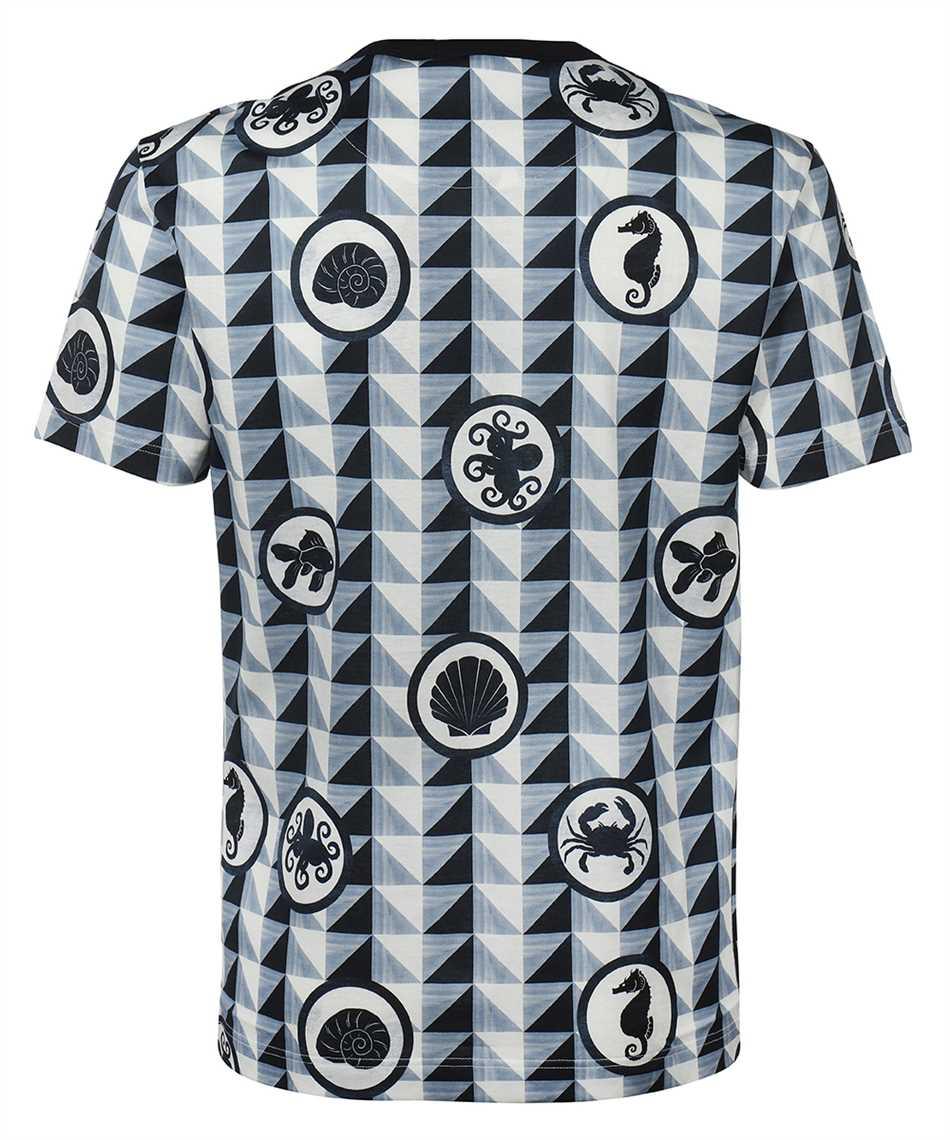 Dolce & Gabbana G8KBAT HS7EG MAJOLICA PRINT COTTON T-shirt 2