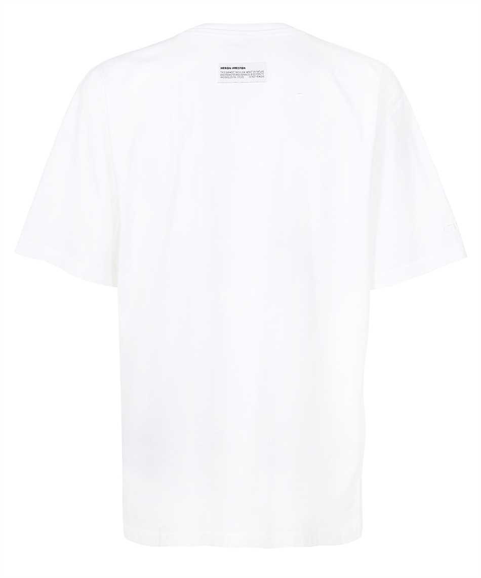 Heron Preston HMAA029F21JER002 SPLIT OVERSIZE S/S T-Shirt 2