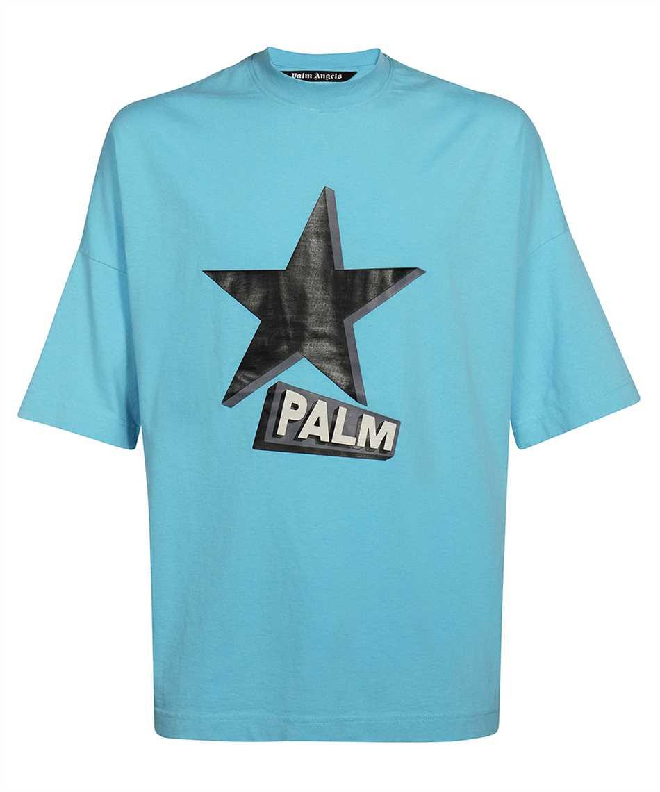 Palm Angels PMAA041F21JER001 ROCKSTAR LOOSE T-Shirt 1