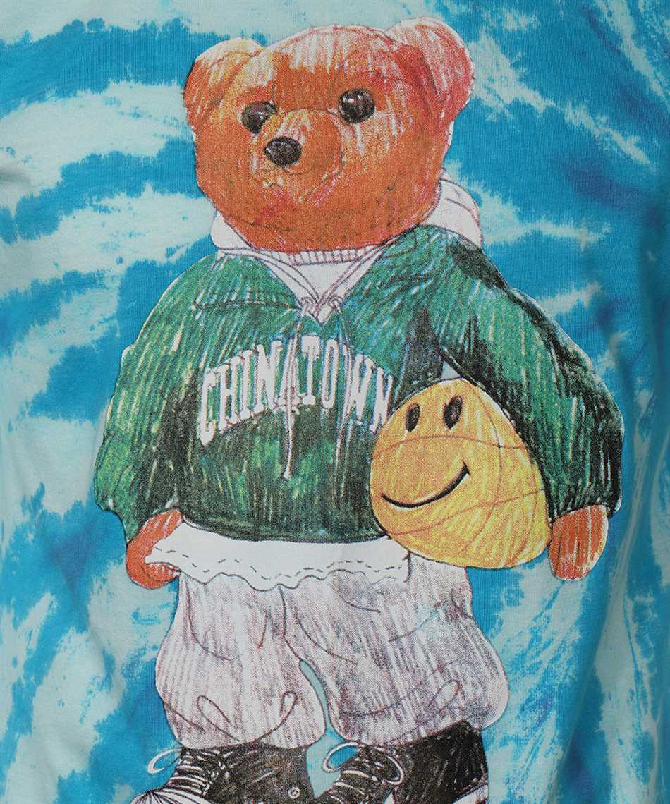 Chinatown Market 1990446 SMILEY SKETCH BASKETBALL BEAR T-shirt 3