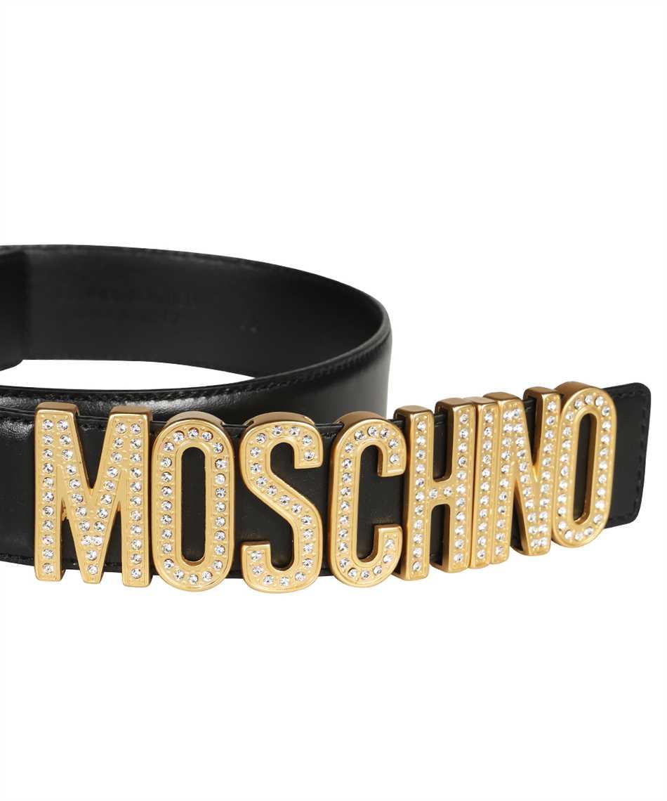 Moschino A8013 8006 RHINESTONES LOGO Gürtel 3