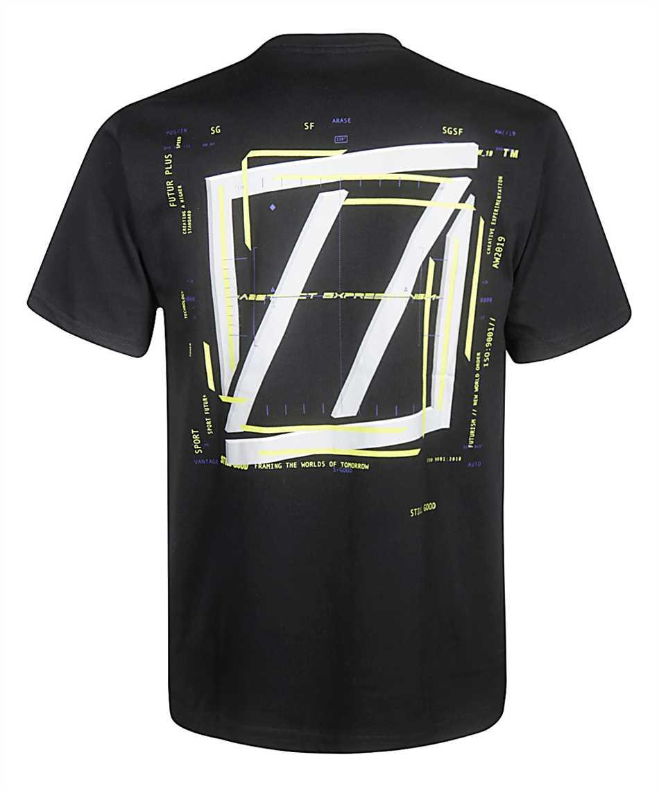 Still Good ABSTRACT MOVEMENT 3D SS TEE T-shirt 2