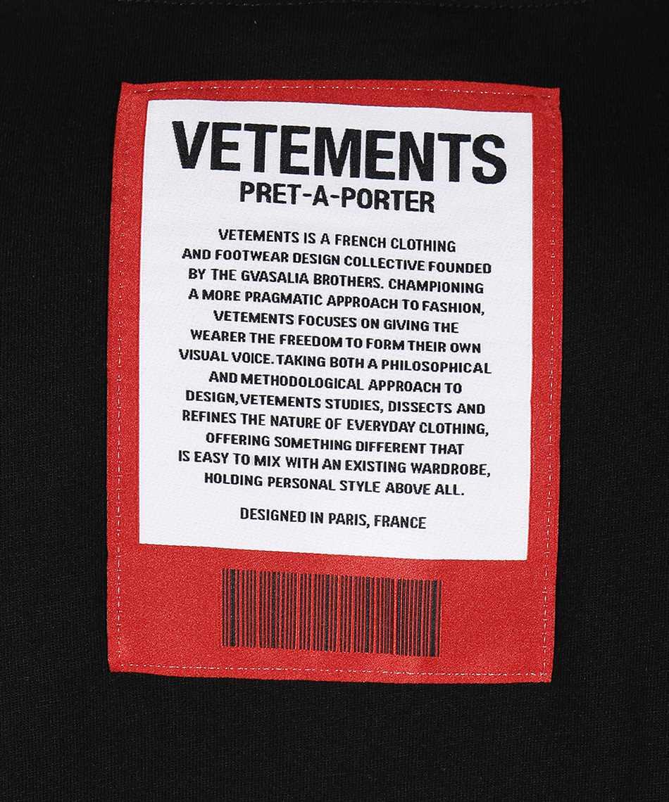 Vetements UE51TR540B LOGO PATCH T-shirt 3