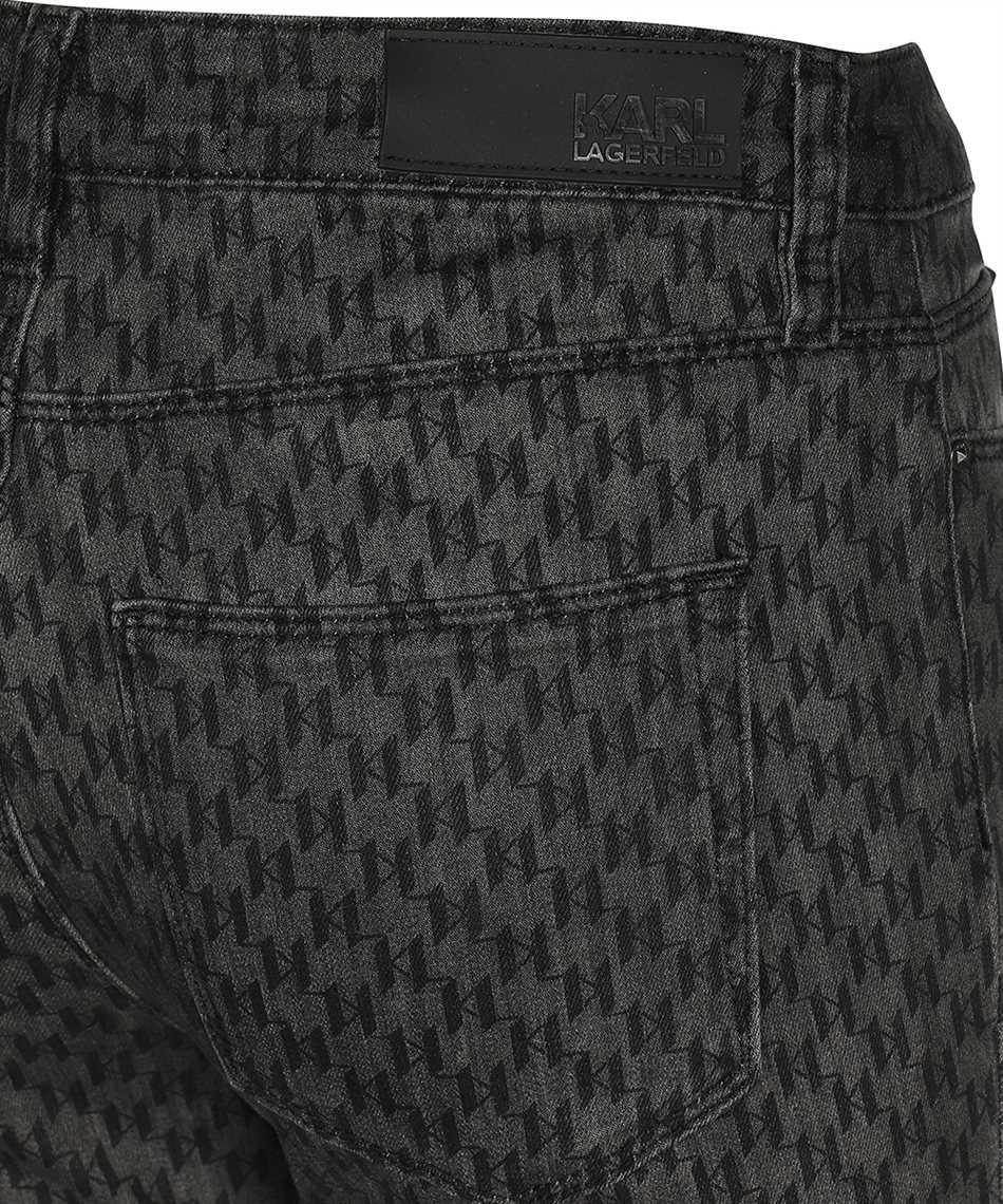 Karl Lagerfeld 216W1102 MONOGRAM SKINNY Jeans 3