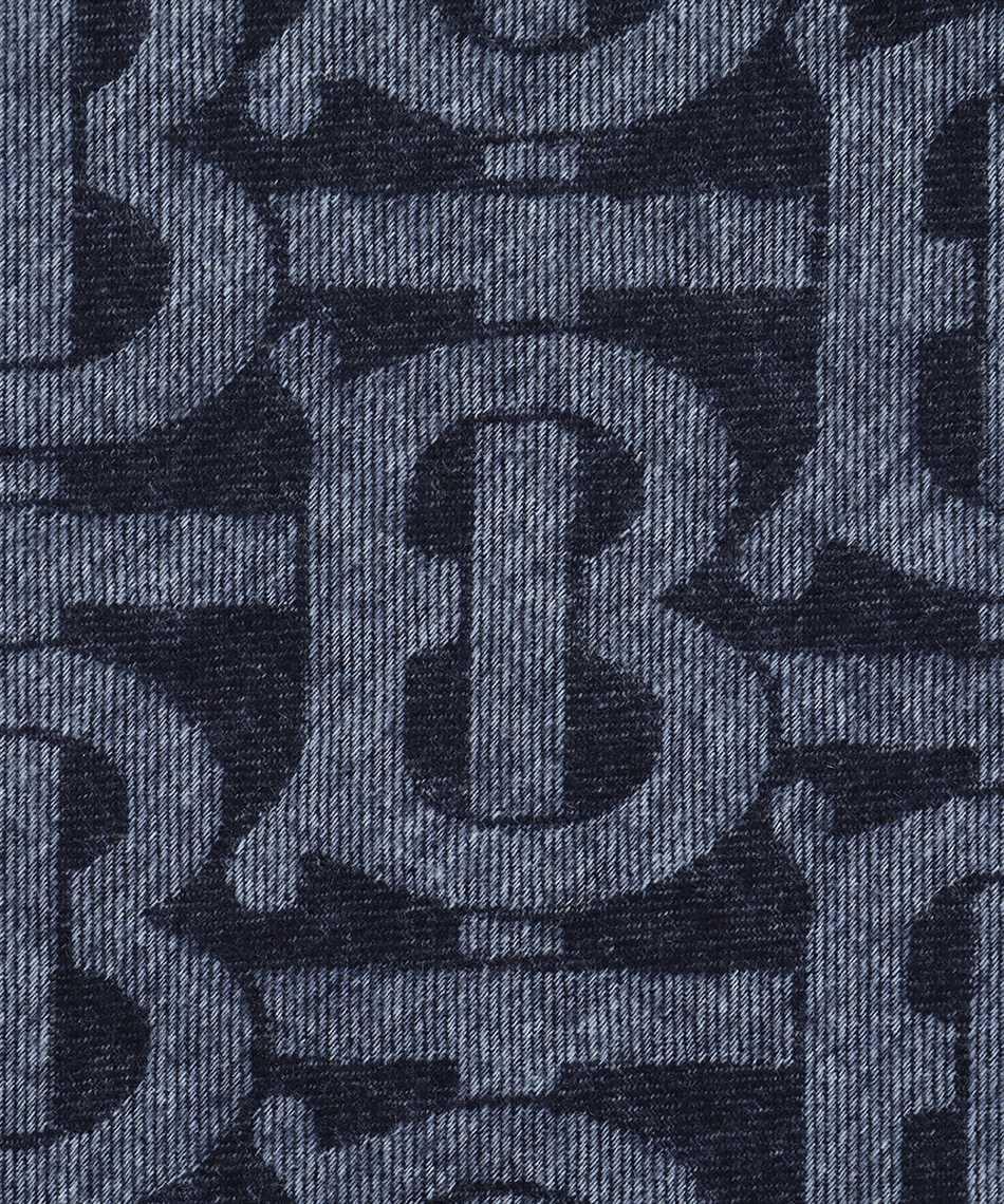 Burberry 8024931 REVERSIBLE CHECK AND MONOGRAM Sciarpa 3