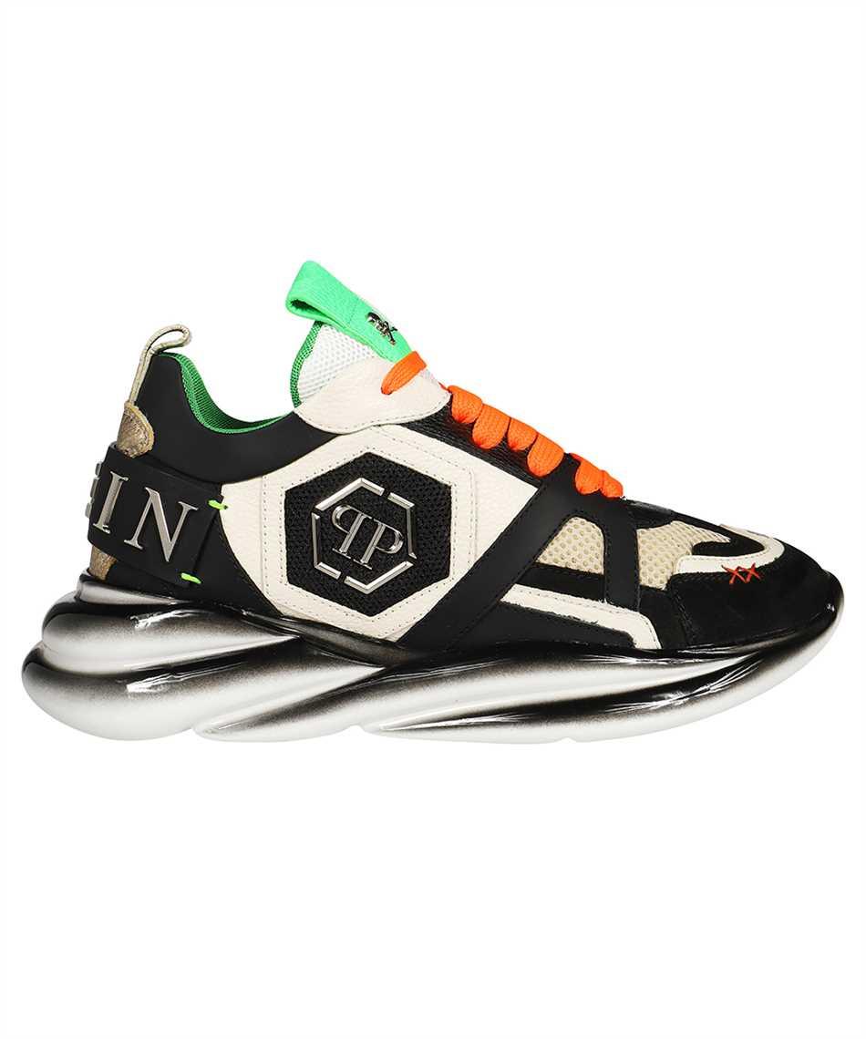 Philipp Plein AAAS MSC 3220 PLE010N RUNNER MIX MATERIALS ICONIC Sneakers 1