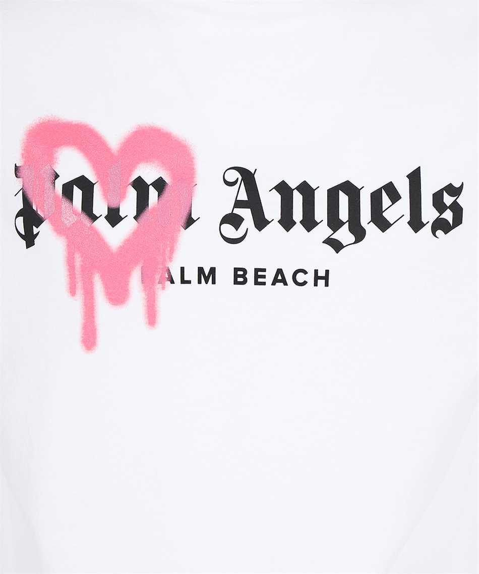 Palm Angels PMAA001F21JER006 PALM BEACH SPRAYED T-shirt 3