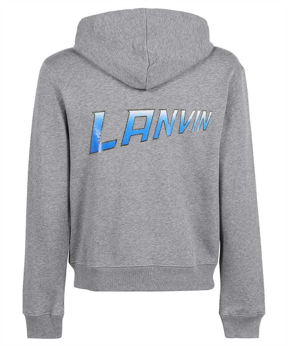 Lanvin RM HO0006 J065 A21 BACK PRINTED ZIPPED Hoodie 2