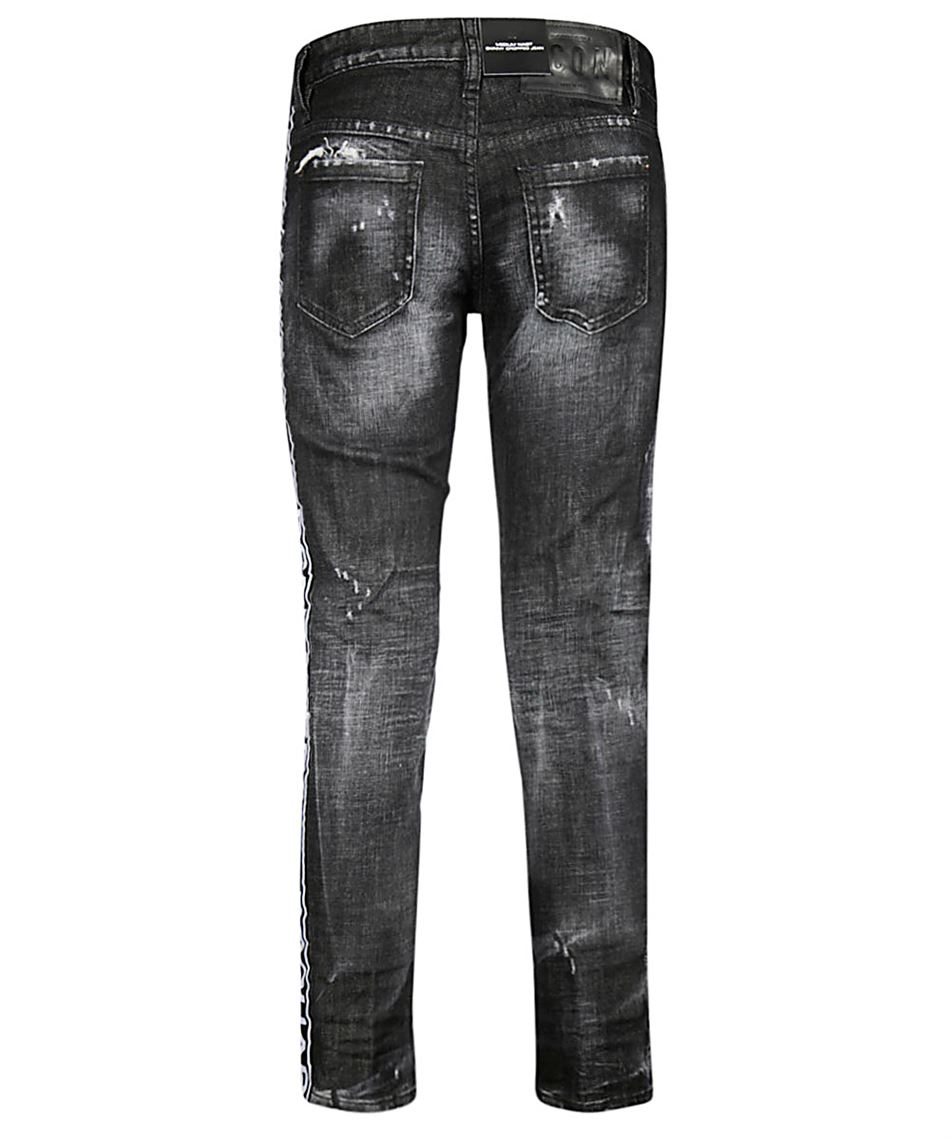 Dsquared2 S75LB0083 S30357 SKINNY CROPPED jeans Schwarz