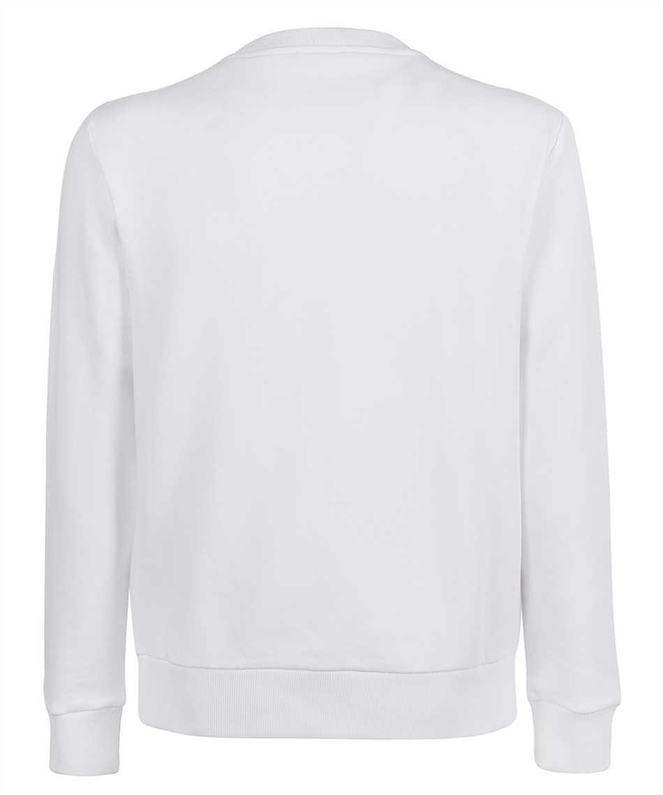 Balmain VH0JQ040G066 BOX LOGO PRINT Sweatshirt 2