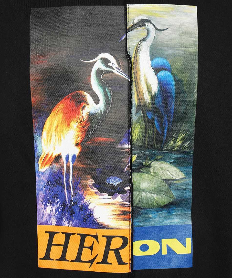 Heron Preston HMBA018F21JER002 SPLIT GRAPHIC Felpa 3
