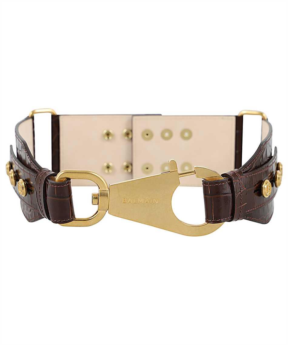 Balmain UN0A029LVCW B-RING HOOK BELT 7,5CM Belt 1