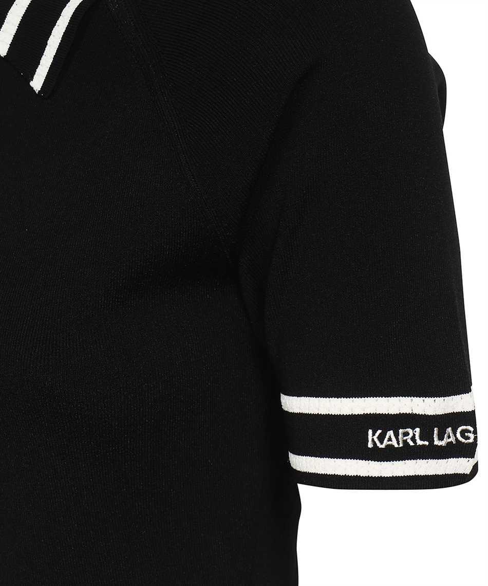 Karl Lagerfeld 215W1364 FLARED KNIT Kleid 3