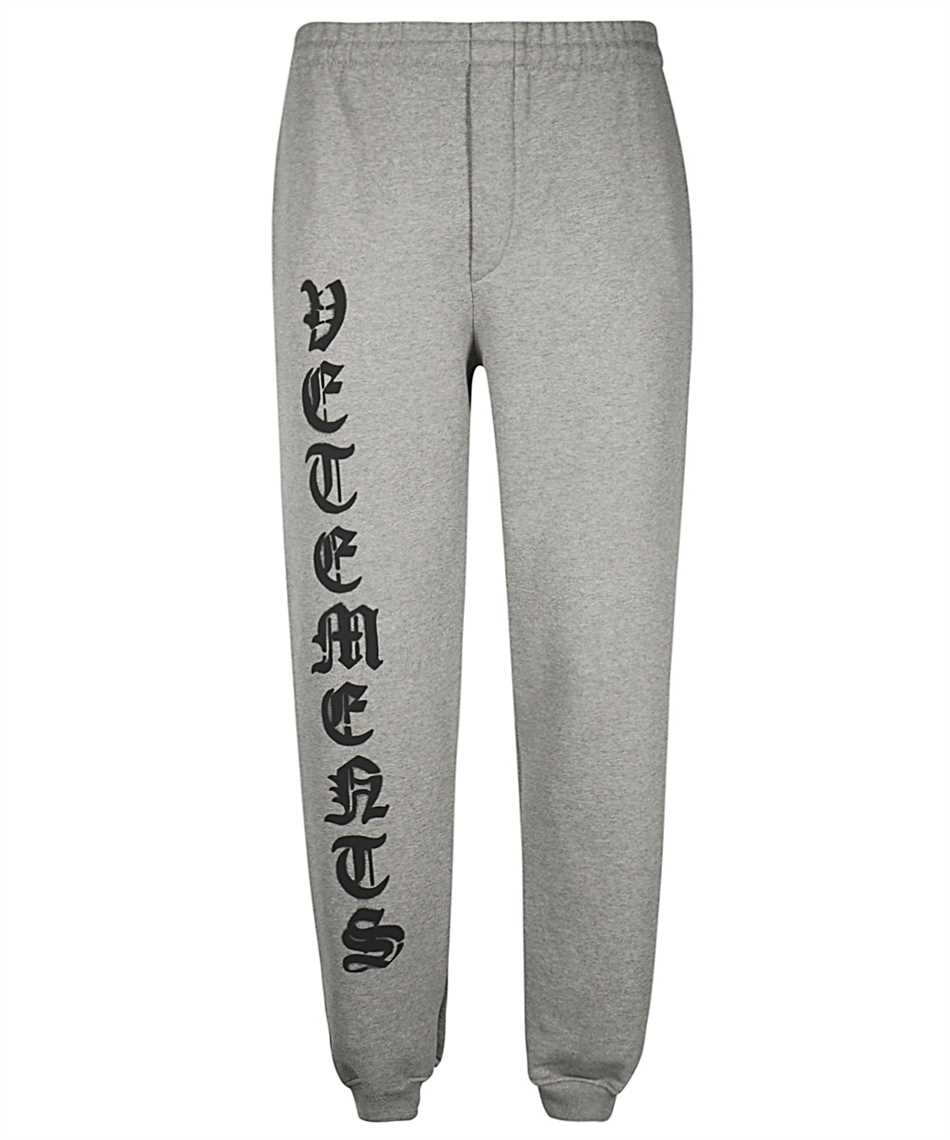 Vetements ME51PA820G ANARCHY GOTHIC LOGO Pantalone 1