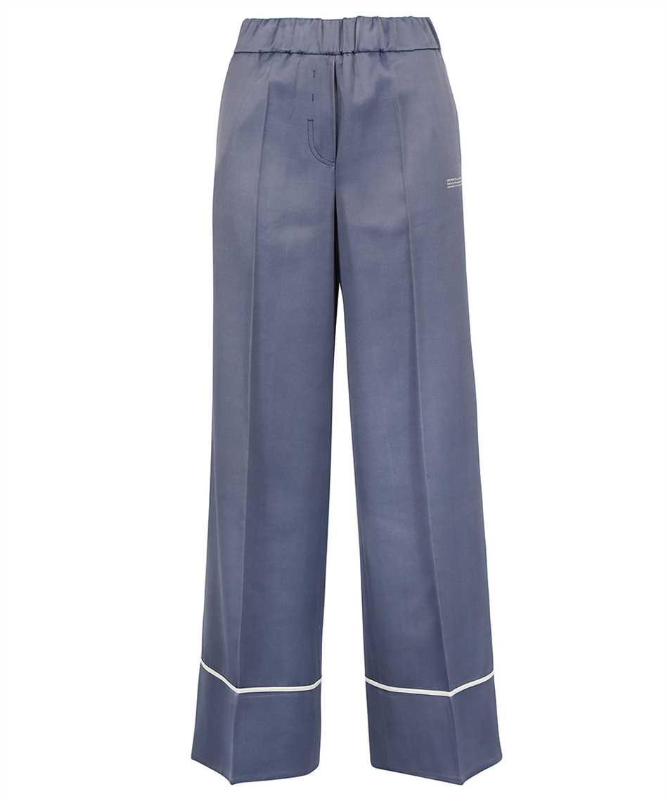 Off-White OWCA125F21FAB002 SATIN PULL ON Pantalone 1