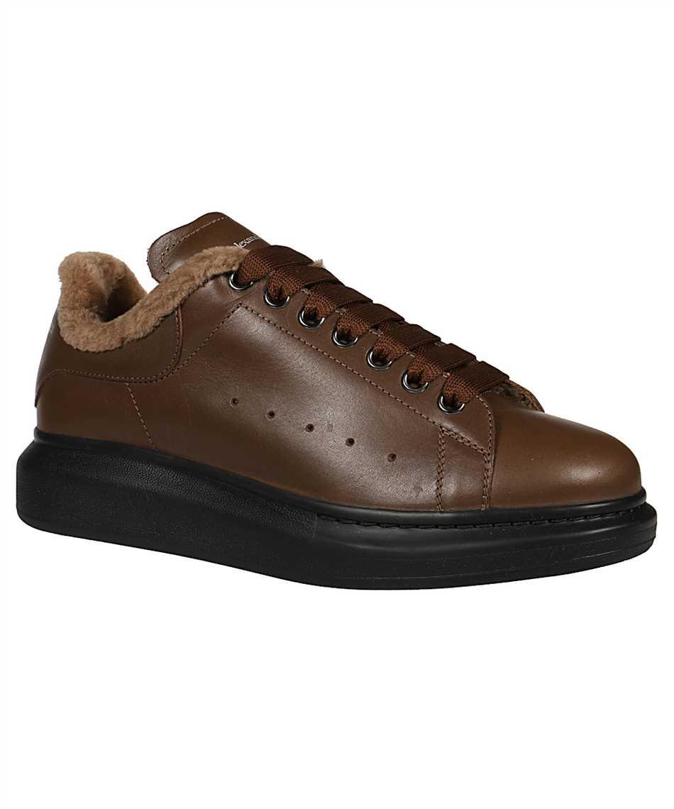 Alexander McQueen 604228 WHXE2 COSY SHEARLING BIKER Sneakers 2