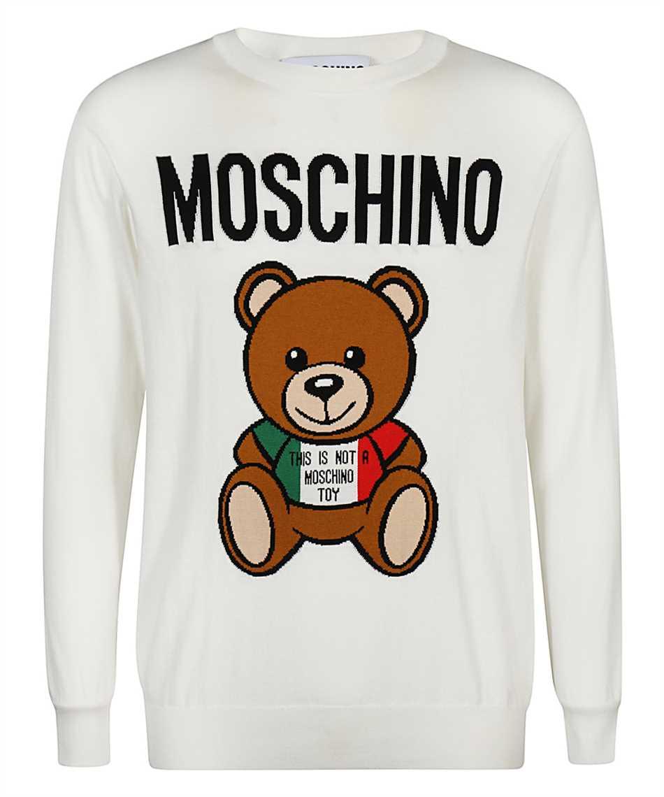 Moschino A0927 2002 ITALIAN TEDDY BEAR Knit 1