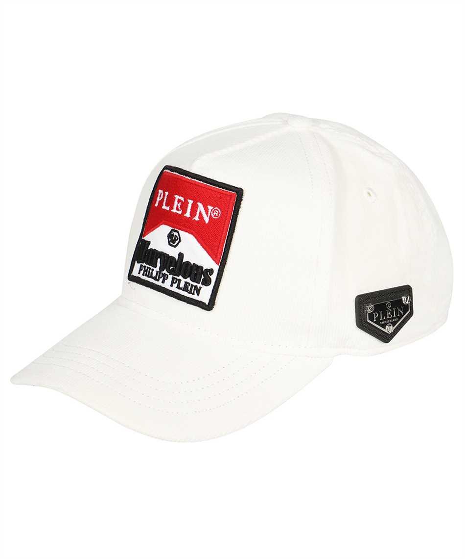 Philipp Plein AAAA UAC 0202 PTE003N BASEBALL Hats 1