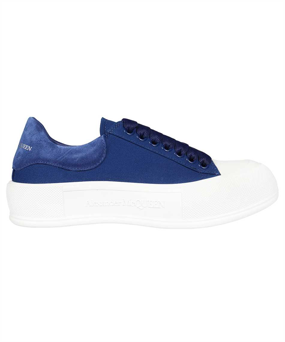 Alexander McQueen 654594 W4PQ1 DECK LACE-UP PLIMSOLL Sneakers 1