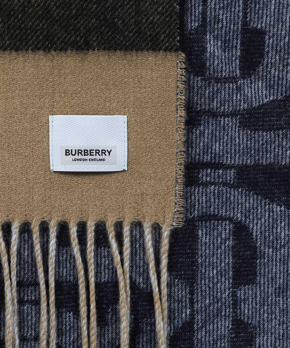 Burberry 8024931 REVERSIBLE CHECK AND MONOGRAM Sciarpa 2