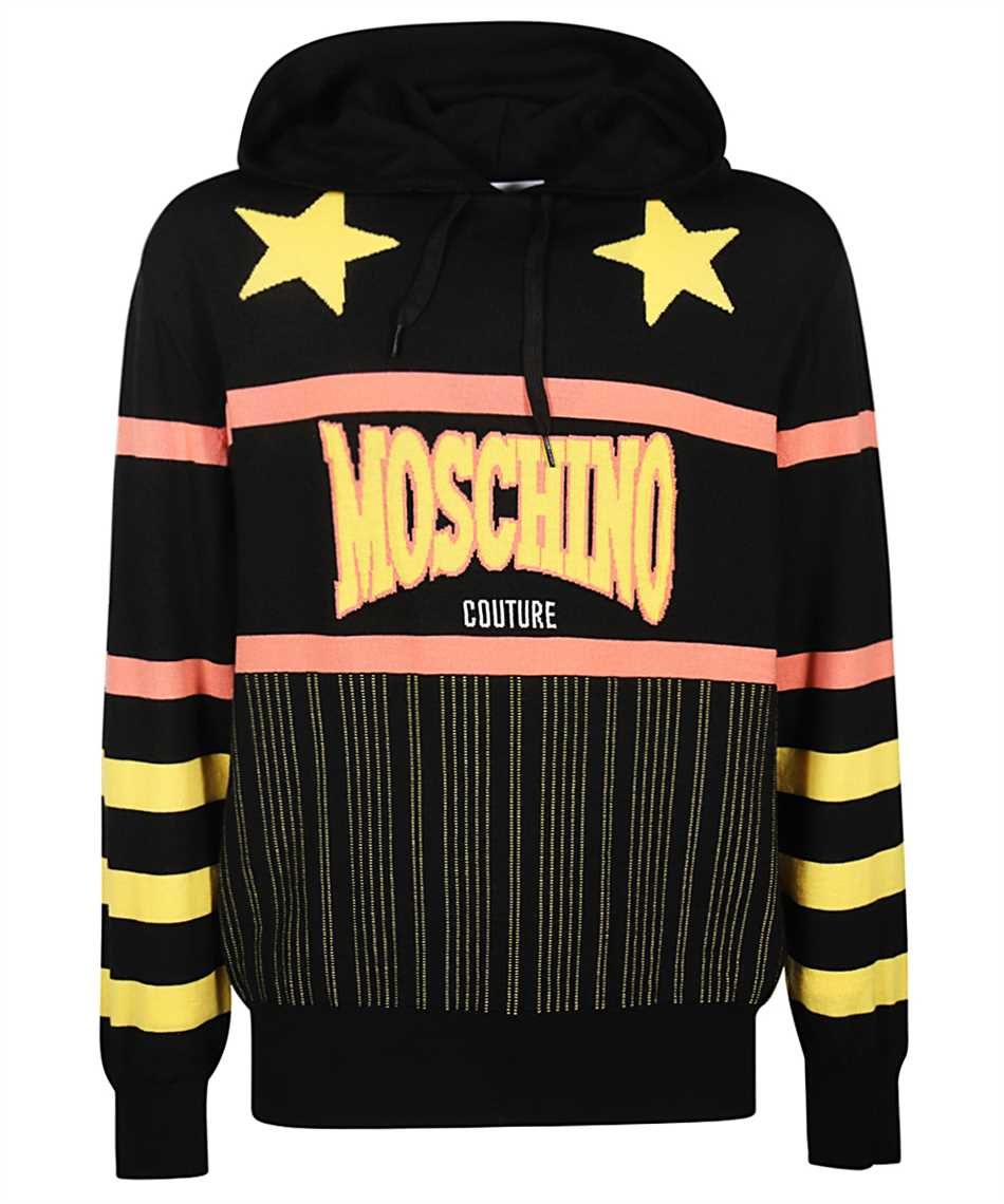 Moschino A0919 2000 HOODED WOOL Knit 1