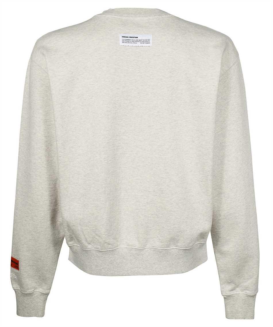 Heron Preston HMBA018F21JER002 SPLIT GRAPHIC Sweatshirt 2
