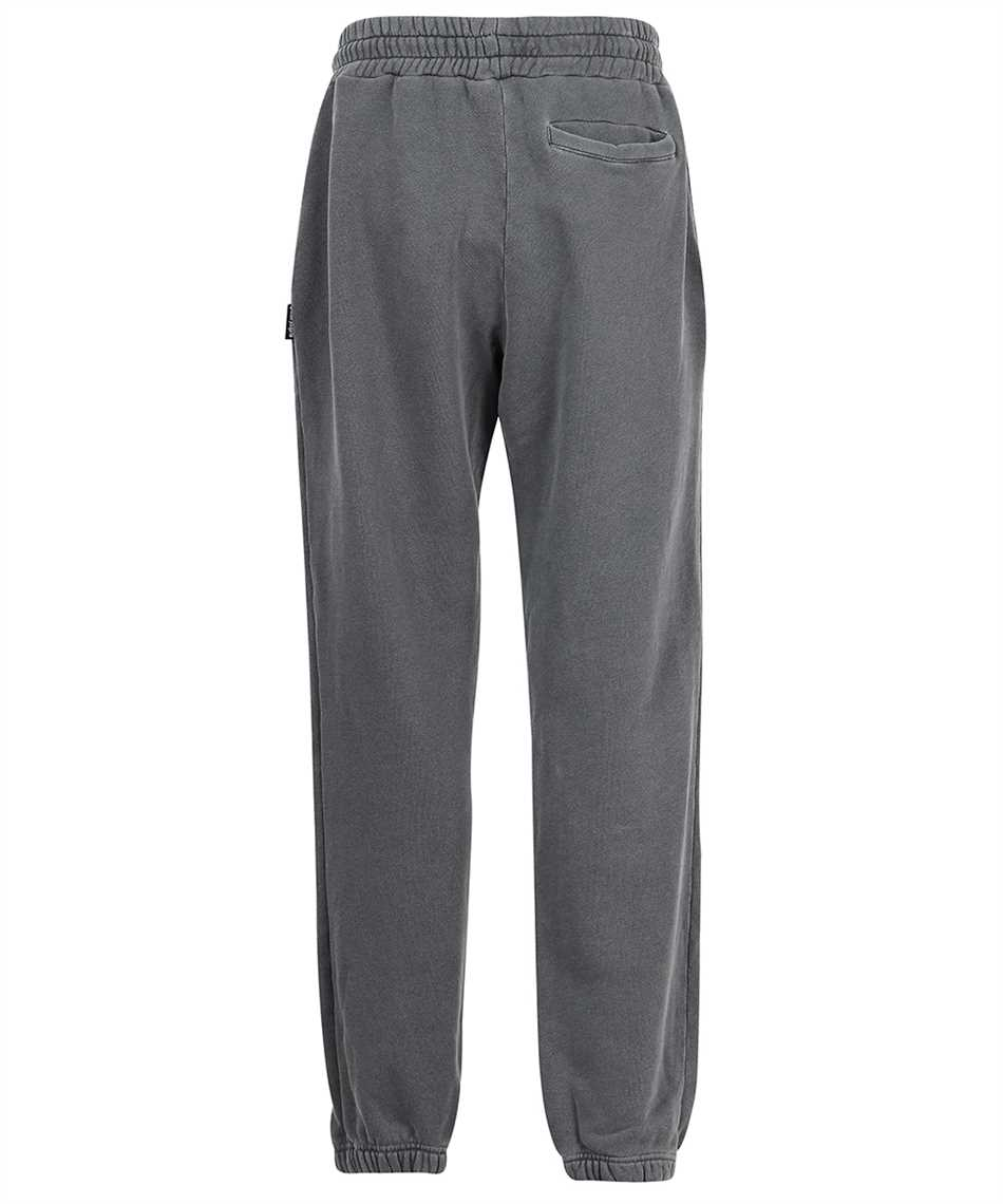 Palm Angels PMCH011F21FLE002 CURVED LOGO Trousers 2