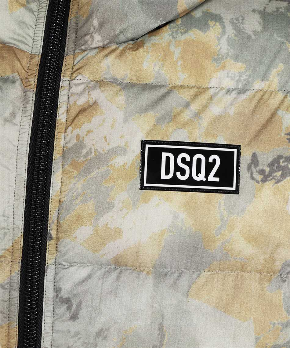 Dsquared2 S74AM1211 S54055 FADED CAMO PUFFER Jacket 3