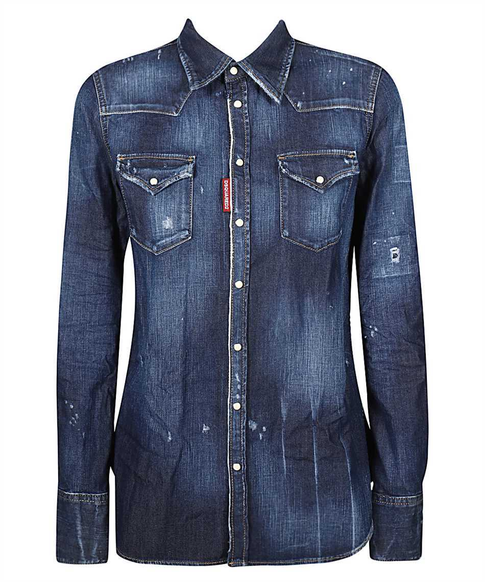 Dsquared2 S75DL0742 S30341 WESTERN Shirt 1