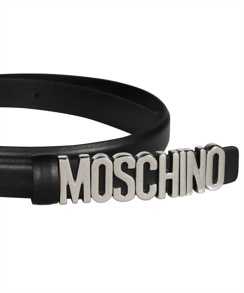 Moschino A8008 8001 LETTERING LOGO Belt 3